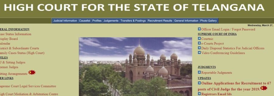 TS High Court Civil Judge Previous Papers Download Pdf