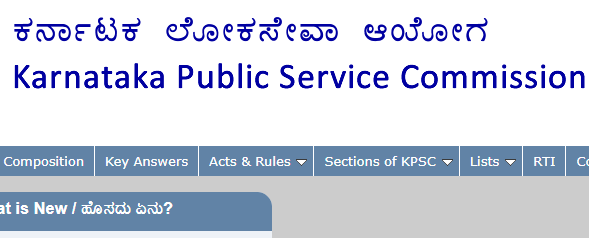 KPSC Sainik Welfare Result 2019 Karnataka Sainik Welfare Cut Off Marks