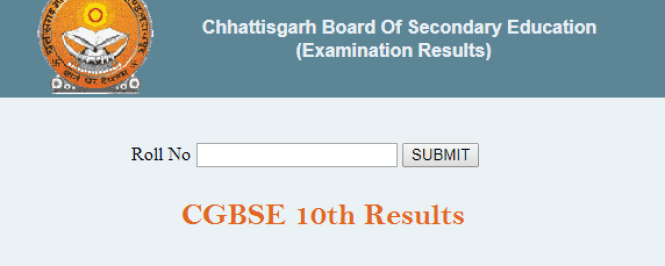 CG 10th Results 2019 Date -घोषित CGBSEXth Result Name Wise Kab Aayega