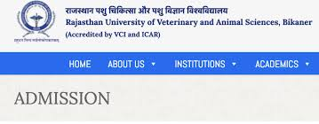 RAJUVASRPVT Counselling Date for B.V.Sc /AH