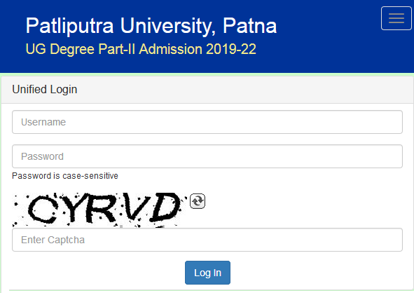 Vacant Seat for Admission Patliputra University Merit List