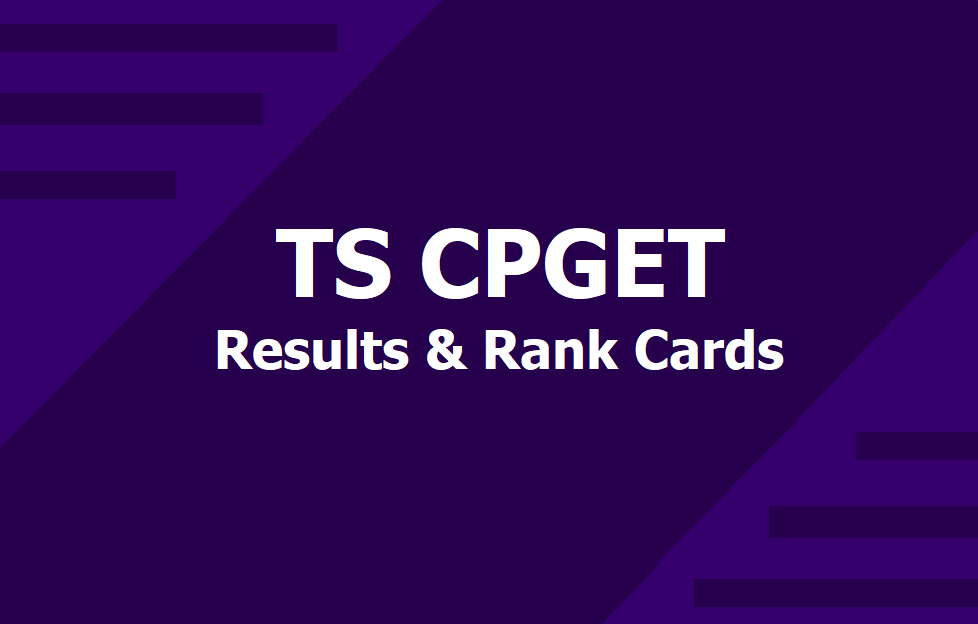 TS CPGET Phase 1st Allotment 2019 -20