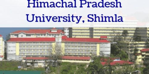 Himachal Pradesh University Admit Card
