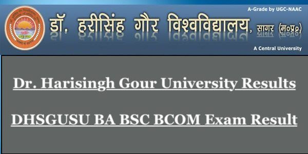 Dr Harisingh Gour University Results