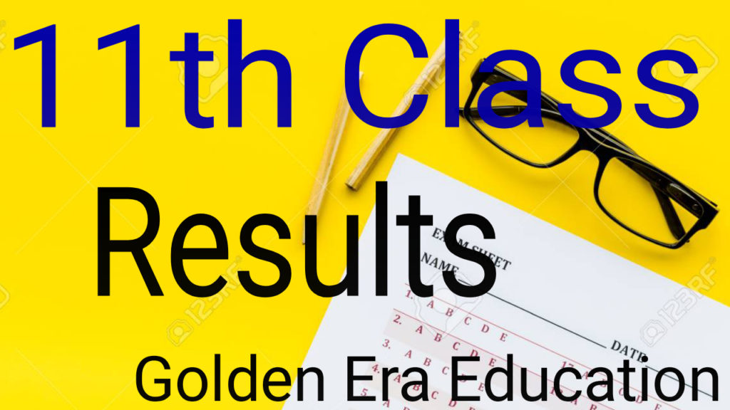11th Class Results