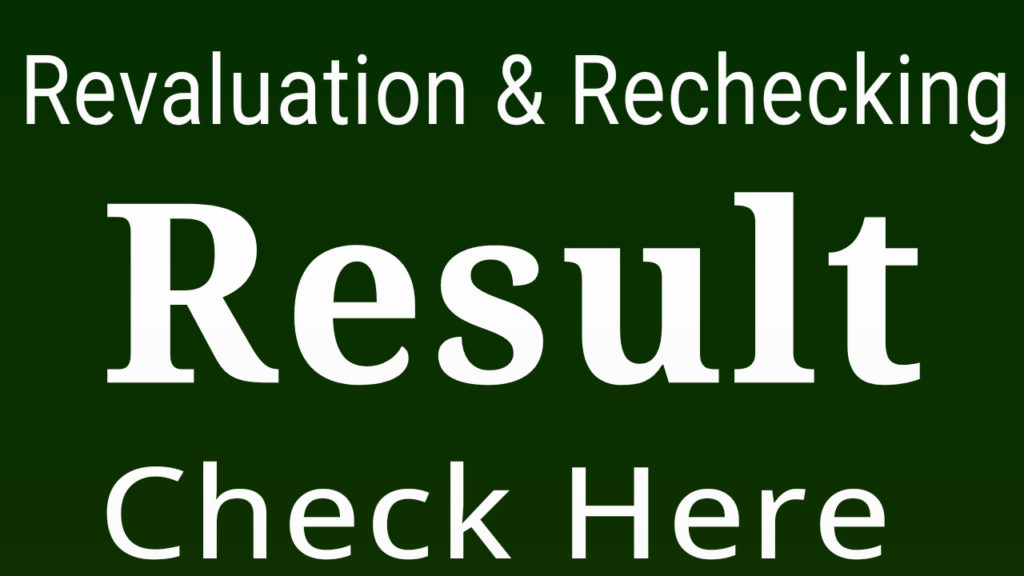revaluation result