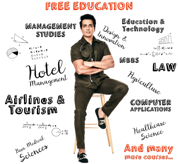 Sonu Sood Scholarship Registration